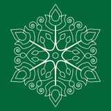Seamless snowflakes mönstrar royaltyfri illustrationer
