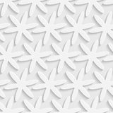 Seamless Snowflakes Pattern. 3d Vector Seamless Snowflakes Pattern Stock Illustration