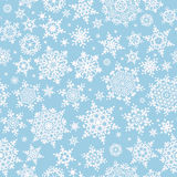 Seamless Snowflakes pattern. EPS 10 Royalty Free Stock Images