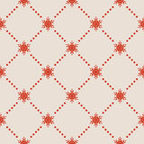 Seamless Snowflakes pattern. EPS 10 Royalty Free Stock Photo