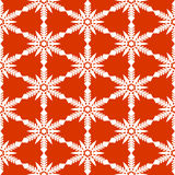 Seamless snowflakes pattern Royalty Free Stock Photography