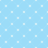 Seamless snowflakes wallpaper Stock Photo
