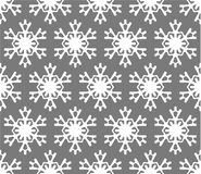 Seamless snowflakesbakgrund Royaltyfri Bild