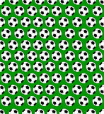 Seamless soccer ball pattern Royalty Free Stock Photos
