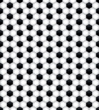 Seamless Soccer Pattern Background Stock Photos