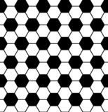 Seamless soccer pattern stock illustration