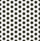 Seamless soccer pattern Stock Image