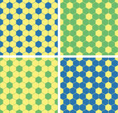 Seamless soccer pattern Stock Photography