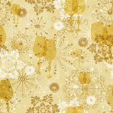 Seamless soft christmas pattern Royalty Free Stock Photos