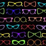 Seamless of solar glasses Stock Image