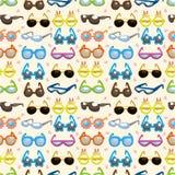 seamless solglasögon för modell royaltyfri illustrationer
