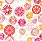 seamless solroshjul royaltyfri illustrationer