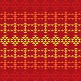 Seamless Southwestern Pattern Royalty Free Stock Images
