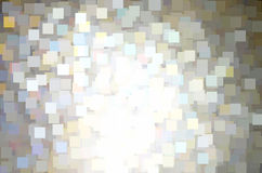 Seamless sparkle squares pattern background Stock Images