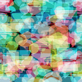 Seamless speech bubbles pattern. Stock Photography