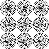 Seamless spiral dot repeat pattern with textures. Seamless spiral dots with textures in a repeat pattern Royalty Free Stock Photography