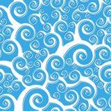 Seamless Spiral Pattern stock image