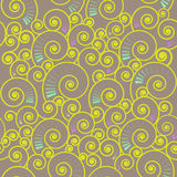 Seamless spiral pattern Stock Photo