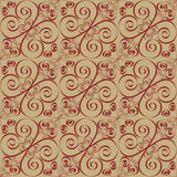 Seamless spiral pattern Stock Images