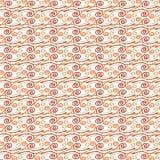 Seamless spiral pattern vector illustration