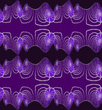 Seamless spiral pattern purple gray Stock Images