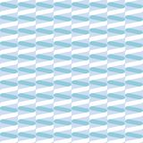 Seamless spiral ribbon wave pattern in muted pastel blue. Seamless spiral ribbon wave pattern background in muted pastel blue vector illustration