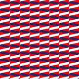 Seamless spiral ribbon wave pattern in red, white and blue. Seamless spiral ribbon wave pattern background in red, white and blue Royalty Free Stock Photo