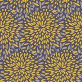 Seamless splattered fireworks pattern Stock Image