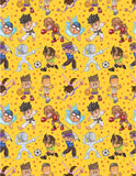 Seamless Sport Pattern Royalty Free Stock Images