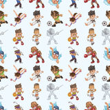 Seamless sport pattern Royalty Free Stock Photography