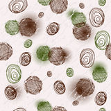 Seamless spotty grungy pattern Royalty Free Stock Photo