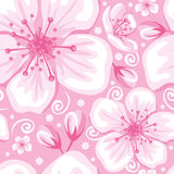 Seamless spring background Stock Photography