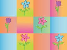 Seamless spring background Royalty Free Stock Images