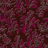 Seamless spring background. leaf pattern.  illustration Stock Image