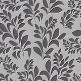 Seamless spring background. leaf pattern.  illustration Stock Images