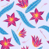 Seamless spring bright pattern Royalty Free Stock Photography