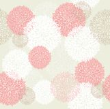Seamless spring floral pattern Royalty Free Stock Image