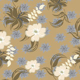 Seamless  spring flower illustration Royalty Free Stock Images