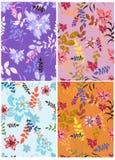 Seamless  spring flower illustration Stock Photography