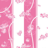 Seamless spring flower pattern Royalty Free Stock Photo