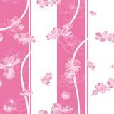 Seamless Spring Flower Pattern Royalty Free Stock Photo