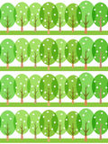 Seamless spring pattern Stock Photo