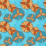 Seamless spring pattern Royalty Free Stock Photos