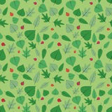 Seamless Spring pattern Royalty Free Stock Photography
