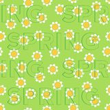 Seamless spring pattern Stock Images