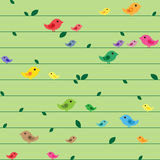Seamless spring pattern Stock Photos