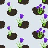 Seamless spring pattern Royalty Free Stock Image