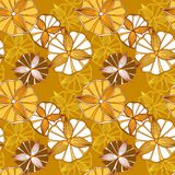 Seamless spring pattern with flowers Stock Photo