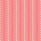Seamless spring sketch vector pattern. Red pink and white twig background. Hand drawn branch texture. Illustration Stock Images
