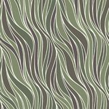 Seamless spring vector pattern with lines. Royalty Free Stock Photo